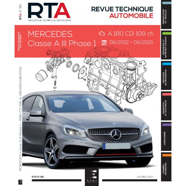 Revue Technique Automobile Mercedes W
