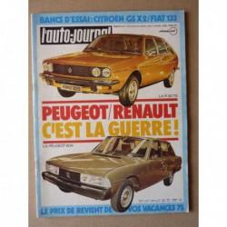 Auto-Journal n°06-75, Seat Fiat 133, Citroën GS X2