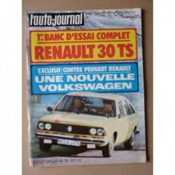 Auto-Journal n°08-75, Renault 30TS, Volkswagen Golf 1100L, Datsun 260Z, Renault Siete 7, Schwimmwagen