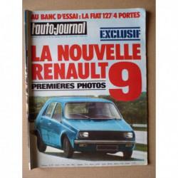 Auto-Journal n°11-75, Saab 99 LE, Fiat 127S, Citroën DS et SM présidentielle, Lancia Monte-Carlo et HPE, Renault 14