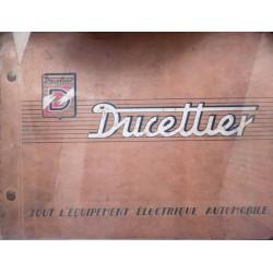 Ducellier, catalogue général 1954