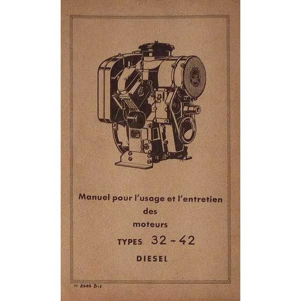notice d 39 utilisation bernard moteurs types 32 et 42. Black Bedroom Furniture Sets. Home Design Ideas