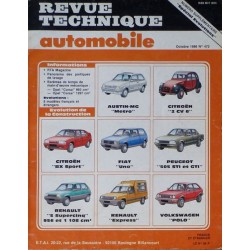 RTA spécial évolutions jusqu'en 1986