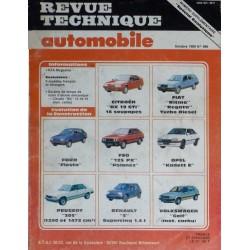 RTA spécial évolutions jusqu'en 1988
