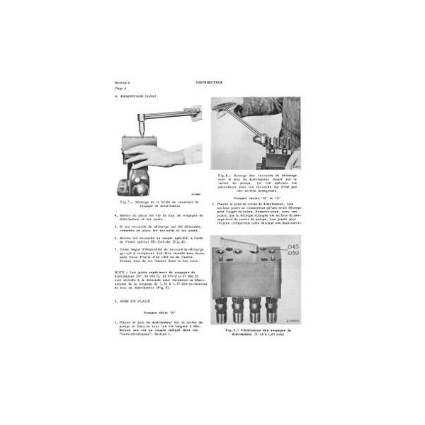 manuel de r paration pompes d 39 injection tous moteurs international 4 et 6 cyl diesel. Black Bedroom Furniture Sets. Home Design Ideas