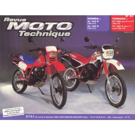 RMT Honda XL 250R, 350R et Yamaha XT 350, TT 350S