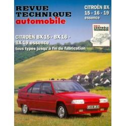 RTA Citroën BX 15, 16, 19