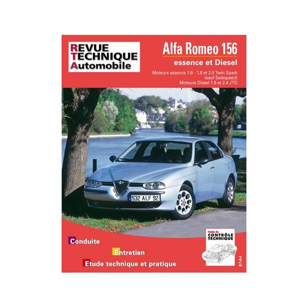 revue technique automobile alfa romeo 147 essence et diesel. Black Bedroom Furniture Sets. Home Design Ideas