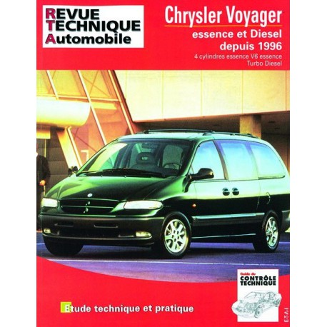 revue technique automobile chrysler voyager iii essence et diesel. Black Bedroom Furniture Sets. Home Design Ideas