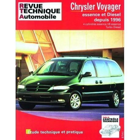 revue technique automobile chrysler voyager iii essence et diesel. Black Bedroom Furniture Sets. Home Design Ideas