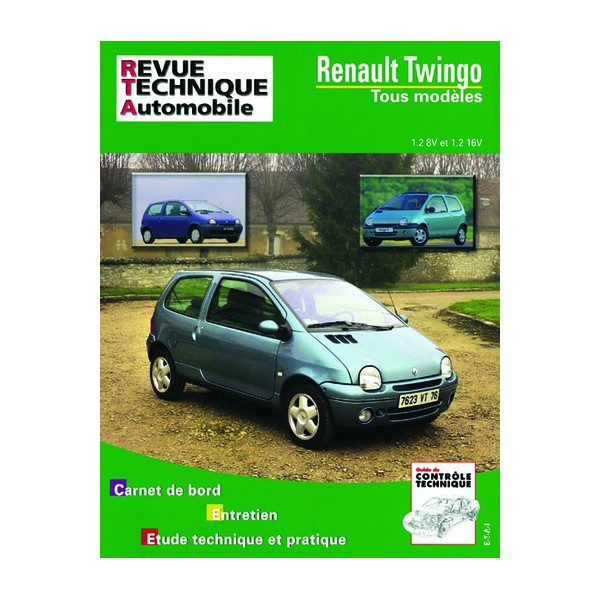 revue technique automobile renault twingo i de 1992 2004. Black Bedroom Furniture Sets. Home Design Ideas