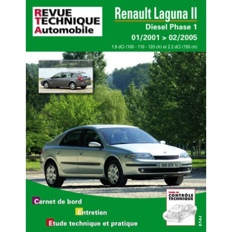 rta renault laguna ii phase 1 diesel 2001 05. Black Bedroom Furniture Sets. Home Design Ideas