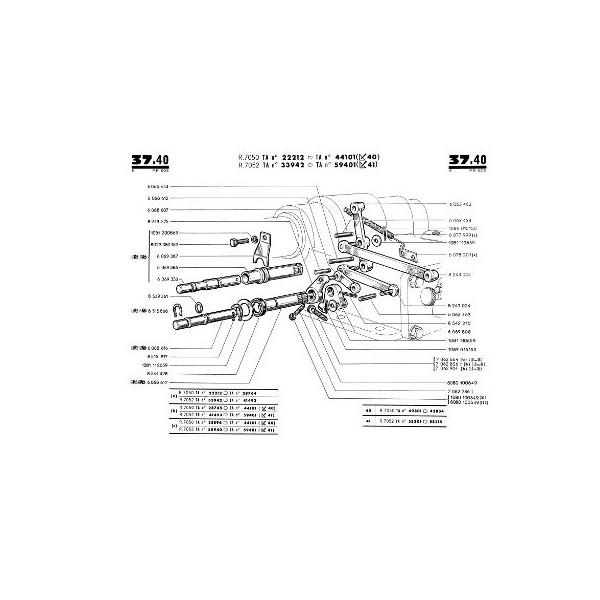 Catalogue De Pi U00e8ces Renault D35  N70  E70  P70  Super 6