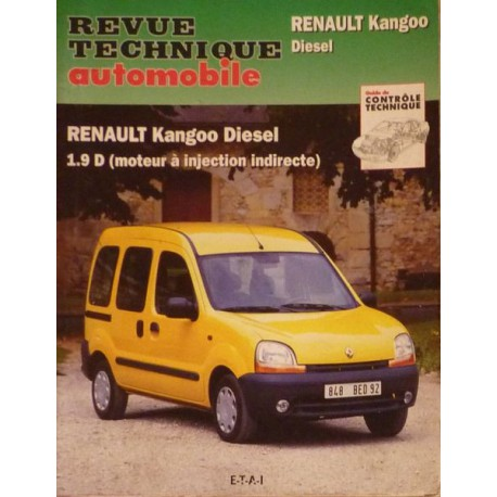 rta revue technique automobile renault kangoo i diesel. Black Bedroom Furniture Sets. Home Design Ideas