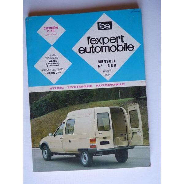 l 39 ea citro n c15 essence et diesel 1984 89. Black Bedroom Furniture Sets. Home Design Ideas