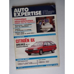 Auto Expertise Citroën BX 14, 16, 19 break