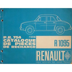 renault dauphine r1095 gordini export catalogue de pi ces. Black Bedroom Furniture Sets. Home Design Ideas