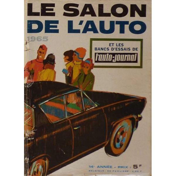 L 39 auto journal salon 1965 for Offre d emploi salon de l auto geneve