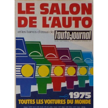 l 39 auto journal salon 1975. Black Bedroom Furniture Sets. Home Design Ideas