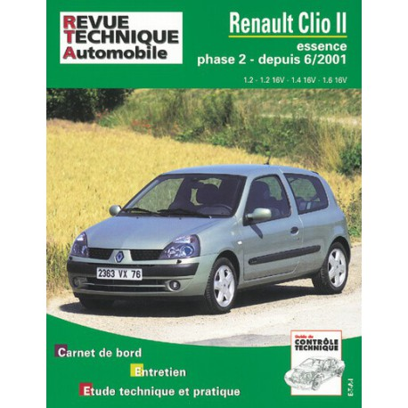 rta renault clio ii phase 2 essence. Black Bedroom Furniture Sets. Home Design Ideas
