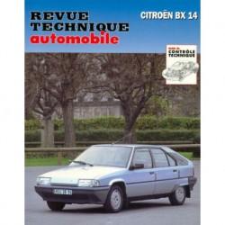 RTA Citroën BX14 E, TE, TGE (moteur TU)