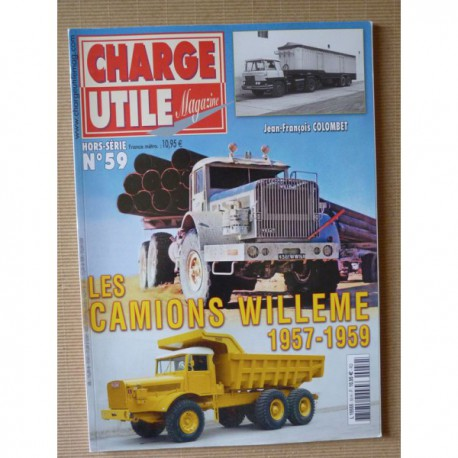 charge utile hs n 59 les camions will me 1957 1959. Black Bedroom Furniture Sets. Home Design Ideas