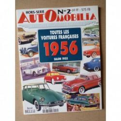 AutOmobilia HS n°2, Toutes les voitures françaises 1956, salon 1955