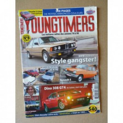 Youngtimers n°8, Renault 5, BMW 323i E21, Dino 308, Chrysler 2L, Honda Prelude AB BA BB