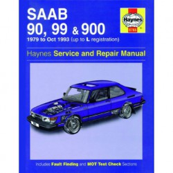Haynes Saab 90, 99, 900, Turbo essence (1979-93)