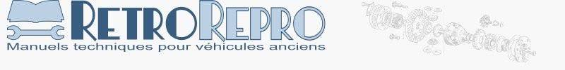 Librairie automobile, moto, tracteur, RetroRepro. Revues techniques et manuels.
