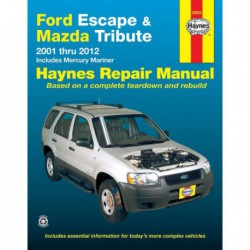 Haynes Ford Escape, Mazda Tribute, Mercury Mariner (2001-12)