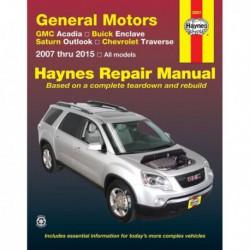 Haynes GMC Acadia, Buick Enclave, Saturn Outlook, Chevrolet Traverse (2007-13)