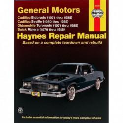 Haynes Cadillac Eldorado, Seville, Oldsmobile Toronado, Buick Riviera (1971-85)