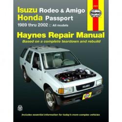 Haynes Isuzu Rodeo, Amigo et Honda Passport (1989-2002)
