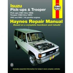Haynes Isuzu Trooper, Trooper II (1984-91) et Pick-ups (1981-93)
