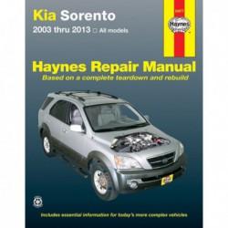 Haynes Kia Sorento (XM, 2003-13)