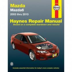 Haynes Mazda 6, Mazda 6 (GG1, GH1, 2003-13)