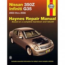 Haynes Nissan 350Z et Infiniti G35 (2003-08)