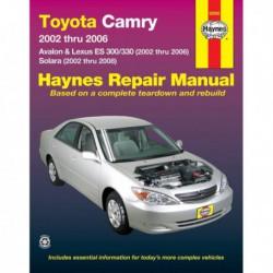 Haynes Toyota Camry, Avalon et Lexus ES 300, 330 (2002-06)