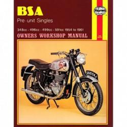 Haynes BSA Pre-unit Singles (1954-61)