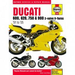 Haynes Ducati 600, 620, 750, 900 V-Twins (1991-05)