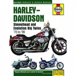 Haynes Harley-Davidson Shovelhead et Evolution Big Twins (1970-99)