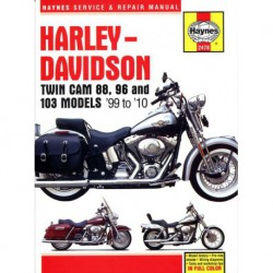 Haynes Harley-Davidson Twin Cam 88, 96, 103,Dyna Glide, Softail, Touring (1999-10)