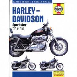 Haynes Harley-Davidson Sportsters (1970-10)