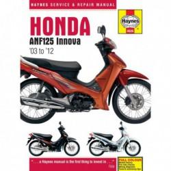 Haynes Honda ANF125 Innova Scooter (2003-12)