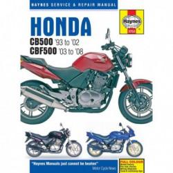 Haynes Honda CB500 (1993-02) et CBF500 (2003-08)