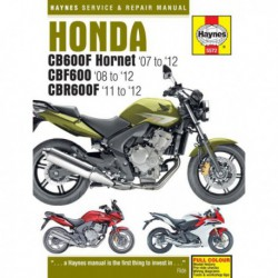 Haynes Honda CB600 Hornet, CBF600, CBR600F (2007-12)