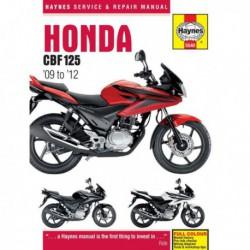 Haynes Honda CBF125 (2009-14)