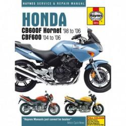 Haynes Honda CB600F Hornet et CBF600 (1998-06)