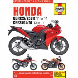 Haynes Honda CBR125R, CBR250R, CRF250L, CRF250M (2011-14)